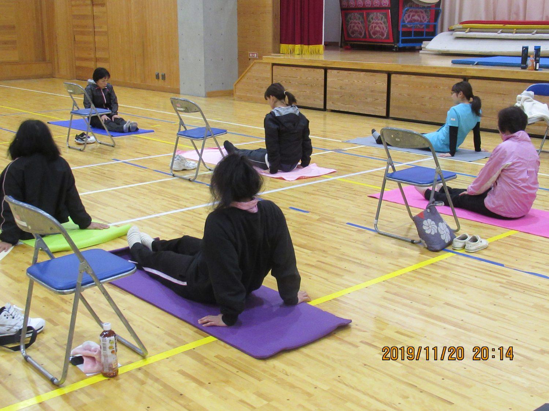 筋膜リリース講座|須賀川市稲田公民館で開催しました!